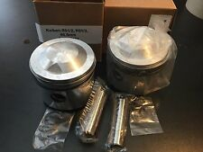 NEW BMW R51/2, R51/3  68.5 MM PISTONS/KOLBENS 1ST OVER W/RINGS, PIN AND CLIPS