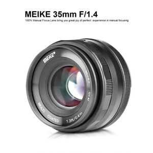Meike35mmF1.4 ManualFocus Lens for Sony E-mount /Fuji X /Canon EF-M / M4/3 mount