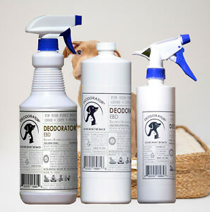 DEODORATOR - All Natural Truly Safe Pet EBD: Enzymatic Bioremediation Deodorizer