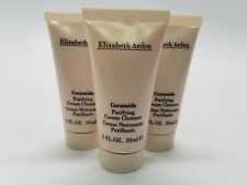 Elizabeth Arden Ceramide Purifying Cream Cleanser 1 oz / 30 ml lots of 3