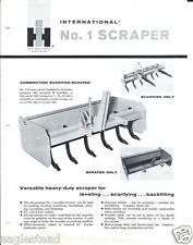 Equipment Brochure - Ih - 1 - Scarifier Scraper for Tractor (E2268)