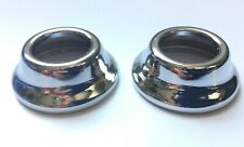 1929 - 1938 Chevrolet Gmc Truck Interior Window Crank Escutcheons Pair Free Ship (Fits: Truck)