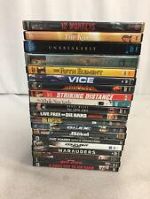 Bruce Willis Dvds Fifth Element Unbreakable Armageddon Sin City Jackal Lot of 20