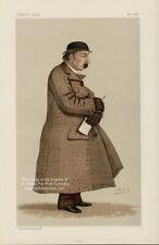Vanity Fair Print : Capt. James Octavius Machell  1887 / Turf + Copy Bio