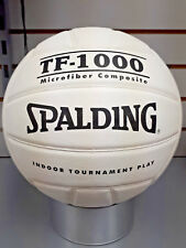 SPALDING TF-1000 MICROFIBER COMPOSITE WHITE VOLLEYBALL NEW