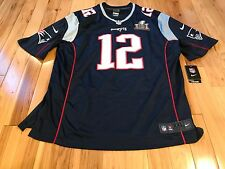 TOM BRADY New England Patriots Nike ON-FIELD Super Bowl LI Jersey XXL
