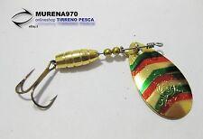 CUCCHIAINO SPLENDEX 3 gr COLORE ORO-MULTICOLOR PESCA- MP199