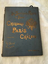 LES SOUVERAINS RUSSES EN FRANCE-1896-ILLUSTRÉ-CHERBOURG PARIS CHÂLONS-P.BELON