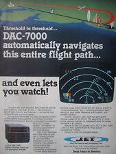6/1982 PUB JET ELECTRONICS DAC-7000 DIGITAL AIRBORNE COMPUTER 3-D NAVIGATION AD
