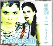 Ramses II - Open Your Heart - CDM - 1998 - Eurohouse 6TR Milk Inc. Antler-Subway