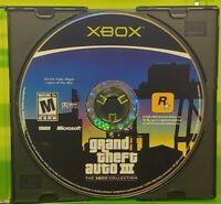 Grand Theft Auto III 3 GTA  -Original OG Microsoft Xbox Game - Tested + Working