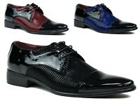 MENS PARTY POINTED TOE FLAT SHOES UK SIZES 6-11