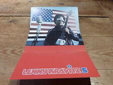 LENNY KRAVITZ - CONCERT PARIS 1999 !!!!! !!!RARE FRENCH VIP PASS