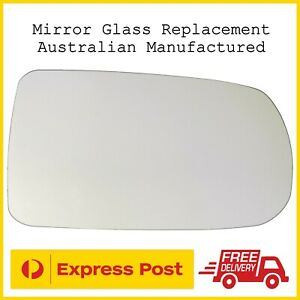 Mazda 323 Astina Protege BJ 1998-03 Right Drivers Side Mirror Glass Replacement