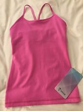 NWT Ivivva Tumblin Tank Kids Size 8 Hot Pink PPIL