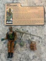 Vintage 1984 GI JOE Roadblock Figure w File Card Original Complete