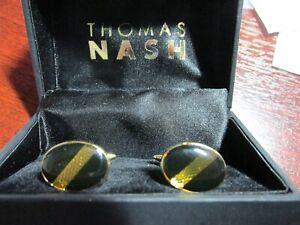 Thomas Nash cufflinks boxed New