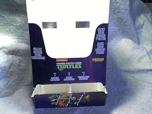2013 PANINI TEENAGE TURTLES*Empty DISPENSER BOX,Mutant Ninja,nickelodeon