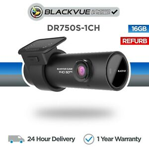 BlackVue DR750S-1CH (16GB) Dash Cam Full HD 1080p 60FPS - Refurbished