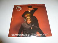 """PIETRO DINZEE - When You Get What You Wanted - 1983 UK 2-track 7"""" Vinyl Single"""