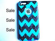 Custom glitter Otterbox Commuter iphone 6 Case Sparkly chevron
