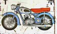 Adler MB200 1954 Aged Vintage SIGN A4 Retro