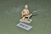 65mm colonial / british - figs beau geste infantry metal painted - inf (4611)