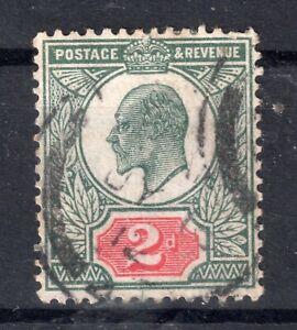 *GB = POSTMARK - E7 era `LONDON (4)` 1912 Medium Arcs on SG291. (N0171)