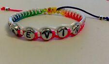 Name Personalised Shambala Fashion Bracelet Perfect Gift Mum Dad Kids❤