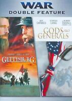GODS AND GENERALS/GETTYSBURG NEW DVD