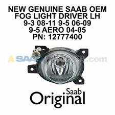 SAAB FOG LIGHT 9-3 08-11 9-5 04-09 AERO DRIVER LEFT NEW GENUINE OEM 12777400