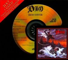 SEALED AUDIO FIDELITY 24KT GOLD CD - HOLY DIVER - DIO -NUMBERED # LIMITED ED