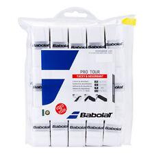 Babolat Pro Tour - Pack of 30 - White Overgrips Tennis Squash - Free UK P&P