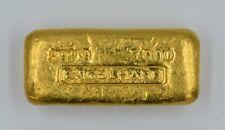 Vintage Engelhard 999.9 Five 5 OZ Ounce Gold Ingot Bar