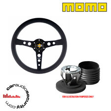 MOMO PROTOTIPO BLK STEERING WHEEL & BOSS HUB KIT FOR PORSCHE 912s 911 928 M0231