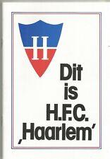 Dit Is H.F.C. Haarlem - 1983 Haarlem football club handbook (in Dutch)