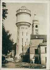 Montmartre, nouveau réservoir d'eau en ciment armé Vintage silver print