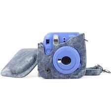 Blue Jeans Shoulder Bag Case for Fujifilm Fuji Instax Mini 8 8+ 9 Camera