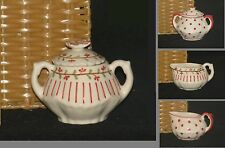 Andrea by Sadek Children's Porcelain Tea Set Replacement SUGAR BOWL or CREAMER