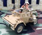 KING & COUNTRY EA010 BRITISH 8TH ARMY DAIMLER MKII SCOUT CAR