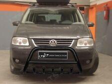 VW TOURAN STAINLESS STEEL BLACK AXLE NUDGE A-BAR BULL BAR GUARD 2003-2009