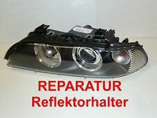 REPARATUR 2x BMW 5er e39 Hella Facelift Scheinwerfer Reflektorhalter Bj. 00-04