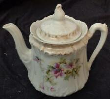 Vintage Golden Era China Covered Tea Pot - GERMANY - VGC - BEAUTFUL OLD TEAPOT