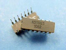5x K511IE1 4-Bit Binary Counter/BCD Decade Counter, Russia USSR (H157 IC)