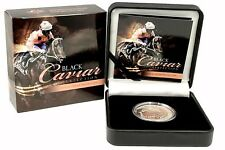 "2013 Black Caviar  "" Perfection "" 1 oz  Silver Proof Coin  Royal Australian Mint"