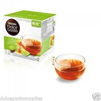 Dolce Gusto Citrus Honey Black Tea Pods 16pods 16 serving New flavour in UK Sale