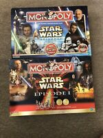 Star Wars Monopoly Episode 1 & 2 Collector's Edition / All pieces included