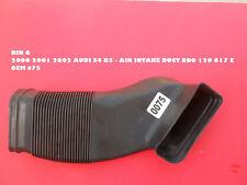 BIN 6 2000 2001 2002 AUDI S4 B5 - AIR INTAKE DUCT 8D0 129 617 E 0EM #75