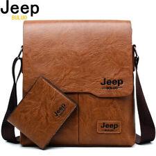 JEEPBULUO Men Tote Bags Set Famous Brand New Fashion Man Leather Messenger Bag