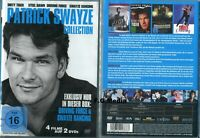 Patrick Swayze DVD Edition (Neu) Steel Dawn, Dirty Tiger, Driving Force, Dancing